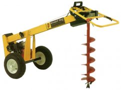 Earth drill ED-90 with engine Honda GX160 OHV