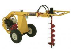 Earth drill with engine Honda GX270 OHV - hydraulic