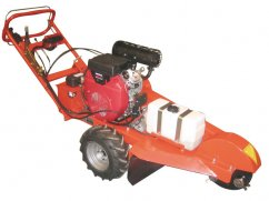 Self propelled stump machine with engine Honda GX690 OHV