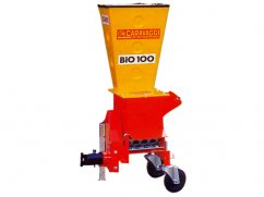 Shredder BIO 100 for PTO two wheel tractor - ø 8 cm