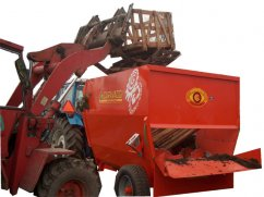 Chipper mixer 15 m³ for PTO tractor - 25 km/h