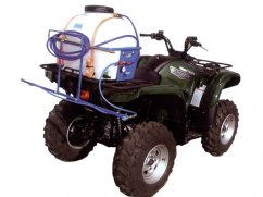 Sprayer for quad 90 liter - pump 12 Volt - 8 l/min