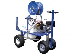 Sprayer 120 liter 4 wheels - pump AR30 - engine Honda GX160 OHV