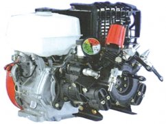 Pump AR503 with Honda GX270 engine - 55 l/min - 40 bar