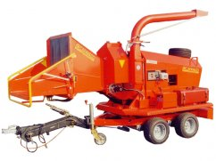 Shredder CIPPO 25 with engine Iveco 60 hp Diesel - No-Stress - ø 25 cm