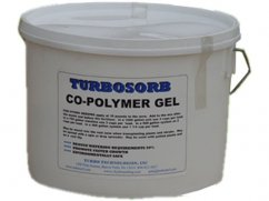 Water absorberende co-polymer gel 4,5 kg