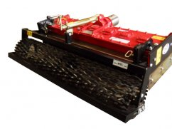 Power harrow 100 cm - roller 110 cm - for two-wheel tractor