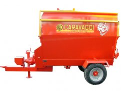 Chipper mixer  5 m³ for PTO tractor - 25 km/h
