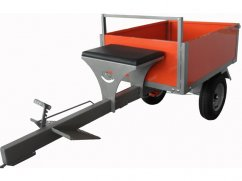 Trailer 300 kg - wheels 4.50x10