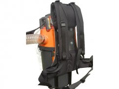 backpack vacuum collector 35 liter - Ø 75 mm - Husqvarna 28 cc