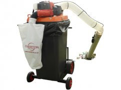 Vacuum collector 240 liter - Ø 125 mm - Husqvarna 65 cm³