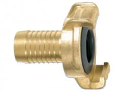 Hose end coupling 3/4
