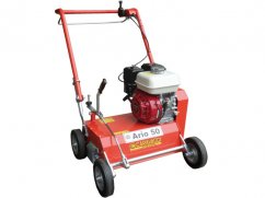 Scarifier 50 cm with engine Honda GX200 OHV mobile knives