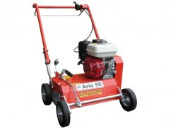 Scarifier 50 cm with engine Honda GX200 OHV verti-cut knives