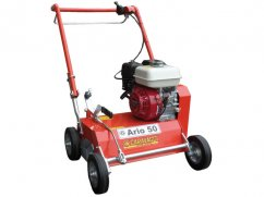 Scarifier 50 cm with engine Honda GX160 OHV fix pointed knives