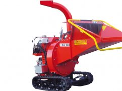 Shredder BIO 230 with engine Honda GX620 OHV on continuous tracks - No-Stress - ø 12 cm