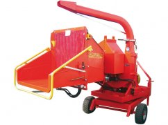 Shredder CIPPO 25 for PTO tractor with turnable table - No-Stress - ø 25 cm