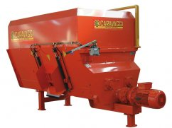 Chipper mixer 3 m³ with electric motor 15 hp