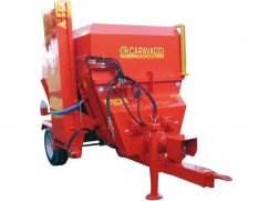 Chipper mixer 10 m³ for PTO tractor - 25 km/h