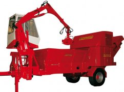 Shredder BIO 930 with engine Iveco Diesel Turbo - No-Stress - 238 hp