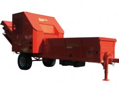 Shredder BIO 1250 with engine Iveco Turbo Diesel - max. 50 cm