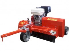 Scarifier 120 cm with engine Honda GX270 OHV mobile knoves