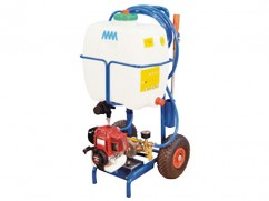 Sprayer on wheels - engine Honda GX25 - 35 liter