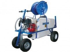 Sprayer 200 liter 4 wheels - pump AR30 - engine Honda GX160 OHV