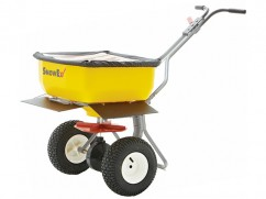 Salt spreader model SP-85SS - inox - 55 kg