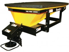 Salt spreader model SP-3000 - 12 Volt - 490 kg