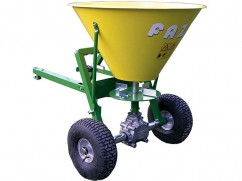 Fertilzer spreader 100 liter - trailed