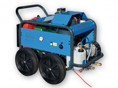 Weed control unit with foam HWS 9