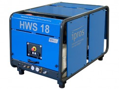 Weed control unit with foam HWS 18