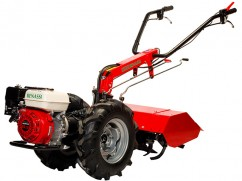 Motocultor with hoe-tiller 65 cm with engine Honda GX200 OHV - 3 speeds forward + 3 reverse