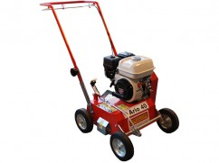 Scarifier 40 cm with engine Honda GP160 OHV fix knives