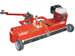 Scarifier 100 cm with engine Honda GX200 OHV mobile knives