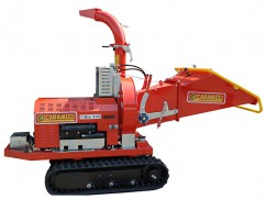 Shredder BIO 235 with diesel engine Lombardini Diesel on continuous tracks - No-Stress - ø 12 cm