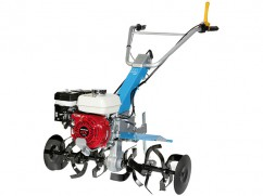 Hoe-tiller 215 with engine Honda GX 160 OHV 87 cm - 2 speeds forward + 1 reverse