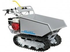 Transporter with engine Honda GX 160 OHV hydraulic dumper - 4 speeds forward + 2 reverse