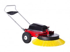 Radial sweeping machine with accu 12 V