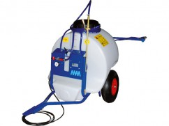 Trailed sprayer 120 liter - pump 12 V-  4 l/min