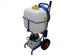 Sprayer on wheels - pump 12 Volt - 35 liter