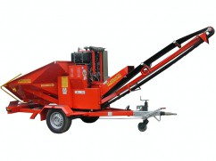 Shredder BIO 350 with diesel engine Lombardini FOCS Diesel - 80km/h - No-Stress - ø 14 cm