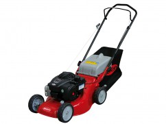 Lawnmower 42 cm with engine Briggs and Stratton 450 - steel deck - push model