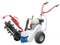 Manual trencher M65RL with Honda GX200 engine - 11x45 cm