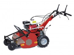 Flail mower 60 cmwith engine Honda GX200 OHV - 2 speeds forward + 1 reverse