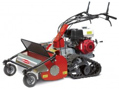 Flail mower 75 cmwith engine Honda GX390 OHV with tracks