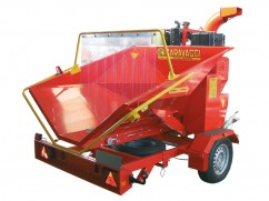 Shredder BIO 350 with diesel engine Lombardini LDW 1003 Diesel - 80 km/h - No-Stress - ø 14 cm