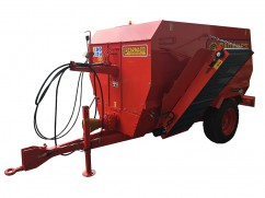 Chipper mixer  6 m³ for PTO tractor - 25 km/h