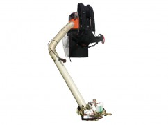 Backpack vacuum collector 35 liter - Ø 125 mm - Husqvarna 28 cm³